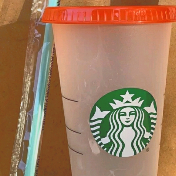 Starbucks 2021 Summer Color Changing Cold Cup